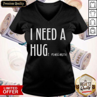 Attractive I Need A Hug V-neck