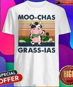 Beautiful Moo Chas Grass Las Vintage Shirt