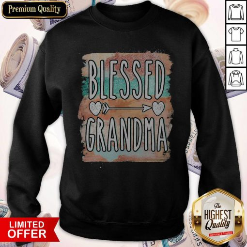 Beautiful Mother Day Blessed Grandma Sweatshirt