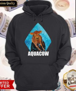 Funny Cow Aquacow Hoodie