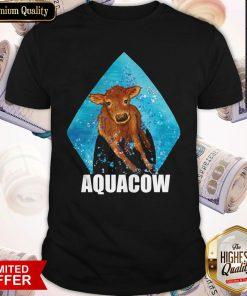 Funny Cow Aquacow Shirt