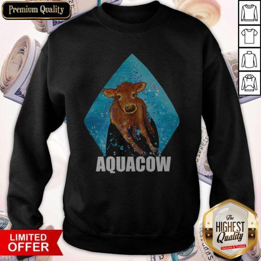 Funny Cow Aquacow Sweatshirt