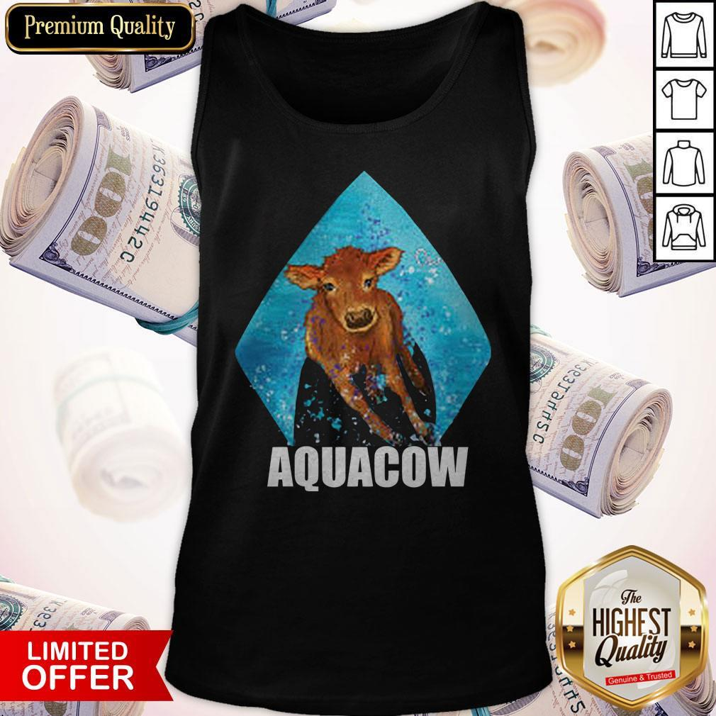 Funny Cow Aquacow Tank Top