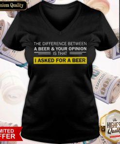Funny I Asked For A Beer V-neck