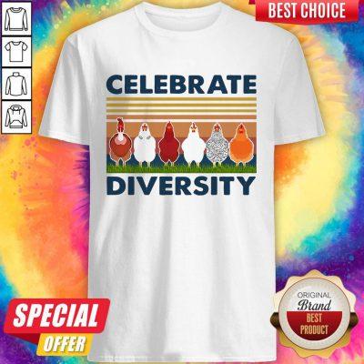 Good Chicken Celebrate Diversity Vintage Shirt