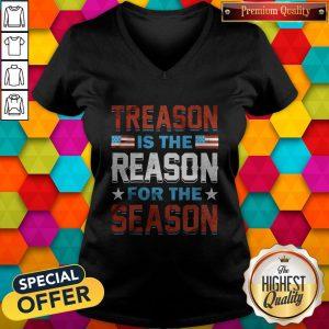 Hot Treason Is The Reason For The Season V-neck