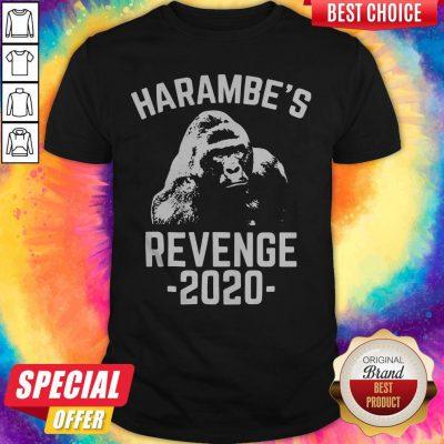 Nice Harambes Revenge 2020 Shirt