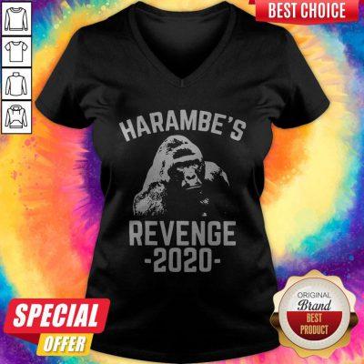 Nice Harambes Revenge 2020 V-neck