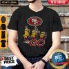 Nice Minions Guitar Go San Francisco 49Ers Football Logo Shirt