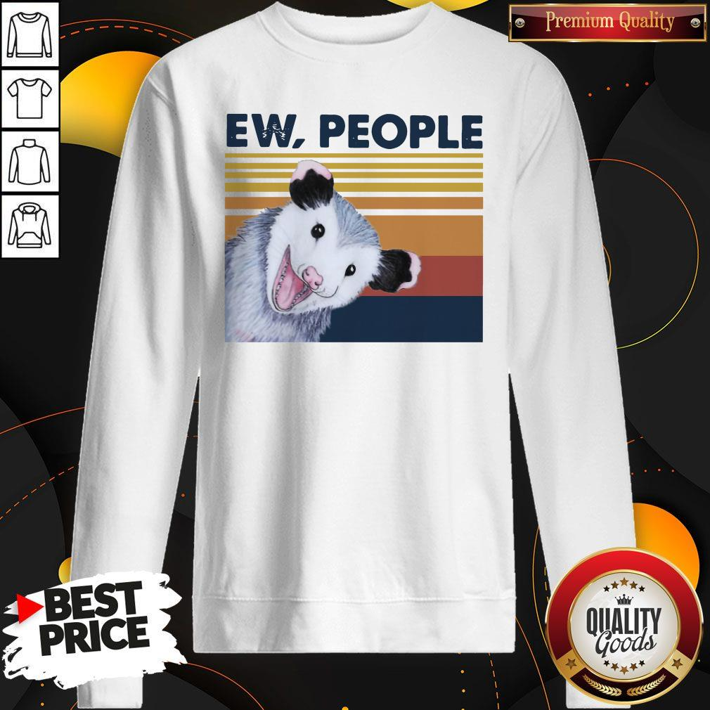 Nice Opossum Ew People Vintage Sweatshirt