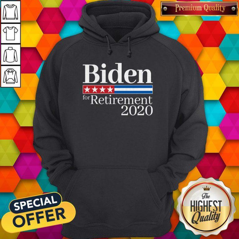 Premium Biden For Retirement 2020 Hoodie