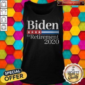 Premium Biden For Retirement 2020 Tank Top