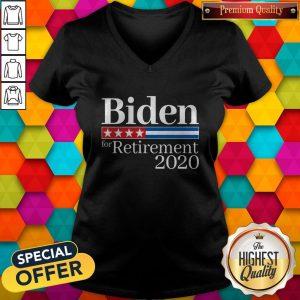 Premium Biden For Retirement 2020 V-neck