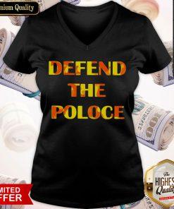 Premium Defend The Police V-neck