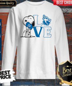 Premium Snoopy Love Cu Cheyney University Of Pennsylvania Heart Sweatshirt
