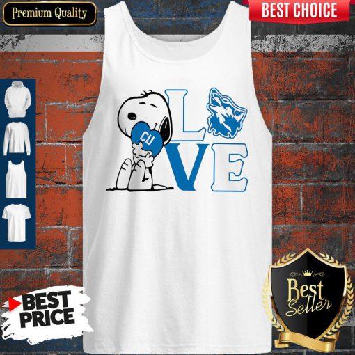 Premium Snoopy Love Cu Cheyney University Of Pennsylvania Heart Tank Top