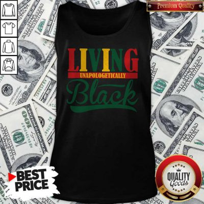 Pretty Living Unapologetically Black Tank Top