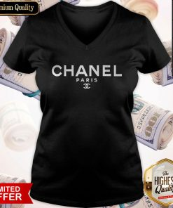 So Beautiful Chanel Paris V-neck