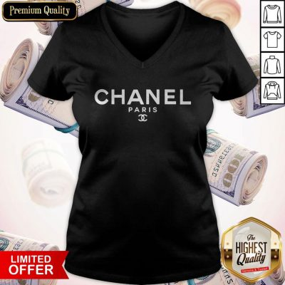 So Beautiful Chanel Paris V-neck