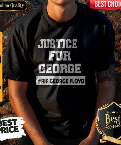 Top George Floyd Rip George Floyd I Can't Breathe Justice For Floyd Shirt