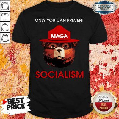 Top Smokey The Bear Socialism Shirt