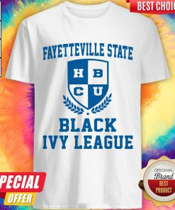 Attractive Fayetteville State BCU Black Ivy League Shirt