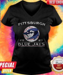 Beautiful I Like Pittsburgh 2020 Blue Jays V-neck