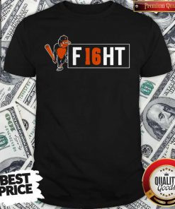 Beautiful Orioles And Trey Mancini Partner On F16HT Shirt