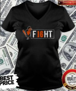 Beautiful Orioles And Trey Mancini Partner On F16HT V-neck