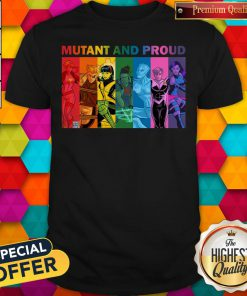 Cool Lgbt Mutant And Proud Pin On Xmen Shirt