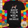 Fantastic Keep Calm And Walk The Beagle Shirt
