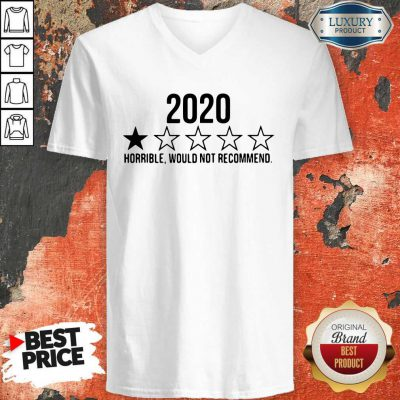 Funny 2020 Horrible Would Not Recommend V-neck