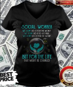 High Quality Social Worker For The Life V-neck
