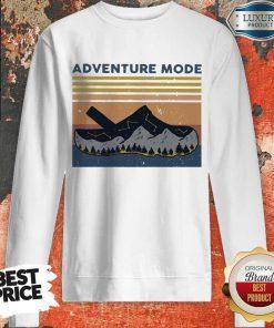 Hot Croc Adventure Mode Vintage Sweatshirt