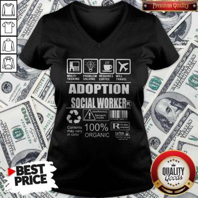 Official Adoption Social Worker ShirtOfficial Adoption Social Worker V-neck