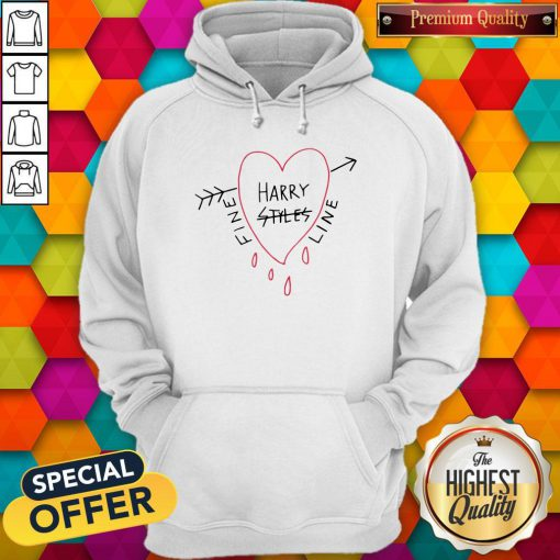 Official Harry Styles Fine Line White Tee Hoodie