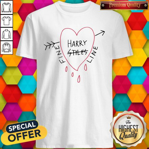 Official Harry Styles Fine Line White Tee Shirt
