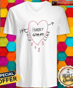Official Harry Styles Fine Line White Tee V-neck