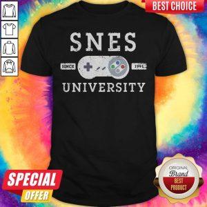 Premium Foxtee Snes Since 1991 University Shirt