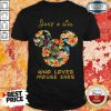 Premium Just A Girl Who Loves Mouse Ears Shirt