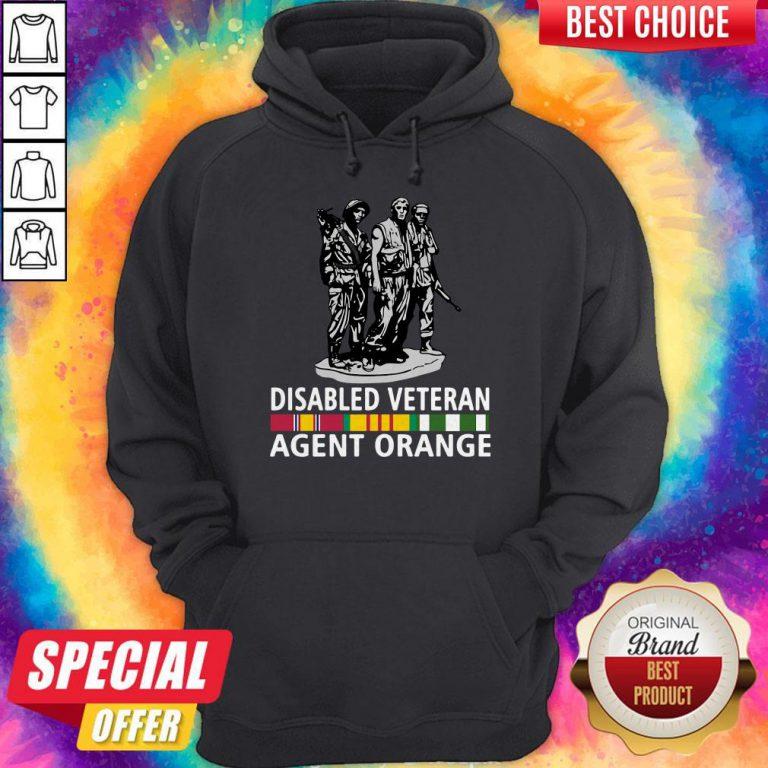 So Beautiful Disabled Veteran Agent Orange Hoodie