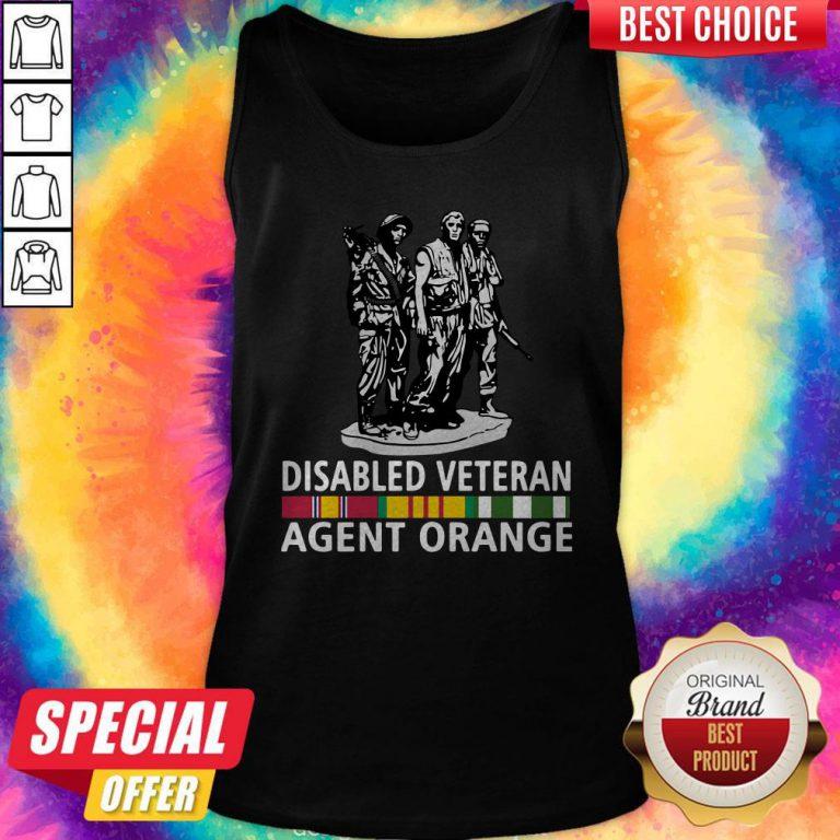 So Beautiful Disabled Veteran Agent Orange Tank Top