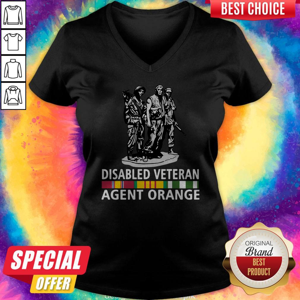 So Beautiful Disabled Veteran Agent Orange V-neck