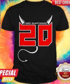 Wonderful I Want Fabio Quartararo 20 Shirt