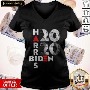 Awesome Biden Harris Election 2020 Shirt T-V-neck