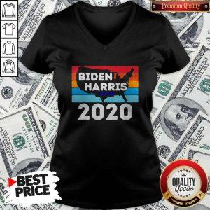 Biden Harris 2020 For President Vintage V-neck