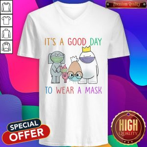 It's A Good Day To Wear A Mask V-neck
