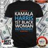 Kamala Harris 1st Woman Vice President Shirt