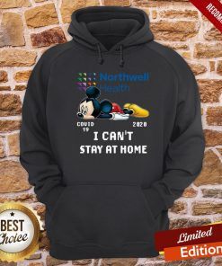 Mickey Mouse Northwell Health Covid 19 2020 I Can Stay At Home Hoodie