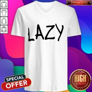 Official Lazy Women's Loose Fit V-neck